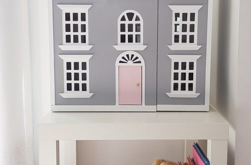 Doll house makeover