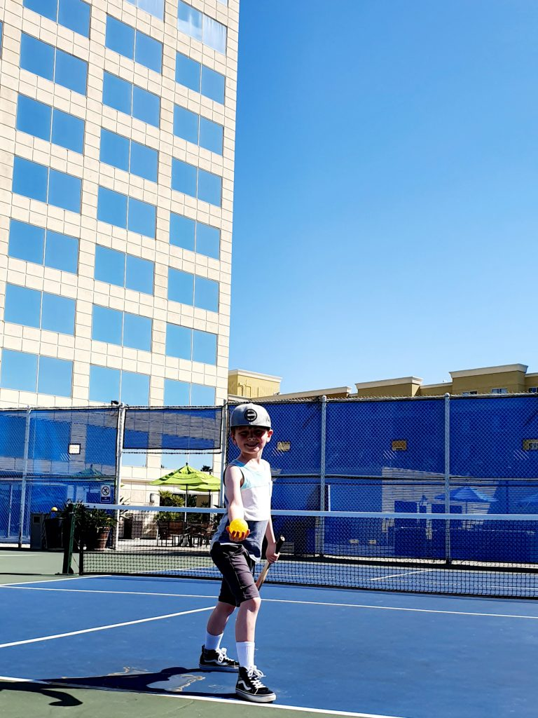 Tennis @ Hyatt Regency Orange County