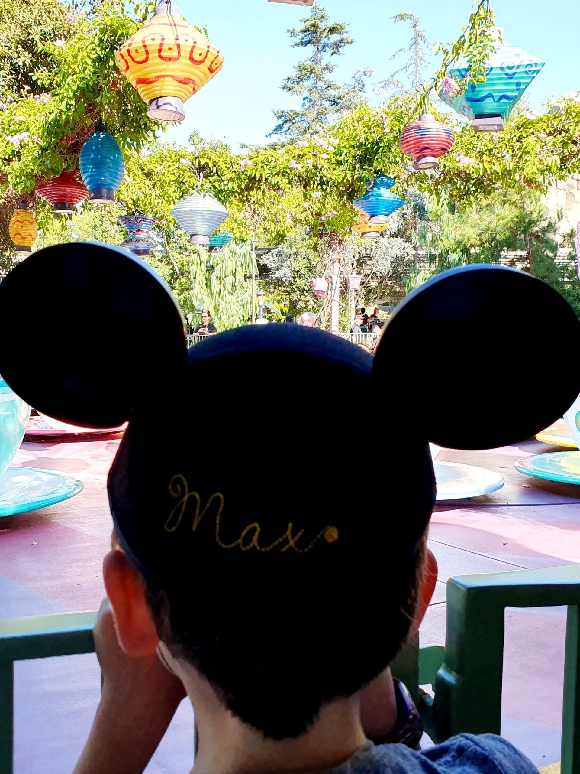 Disneyland Fantasyland Mad Tea Party