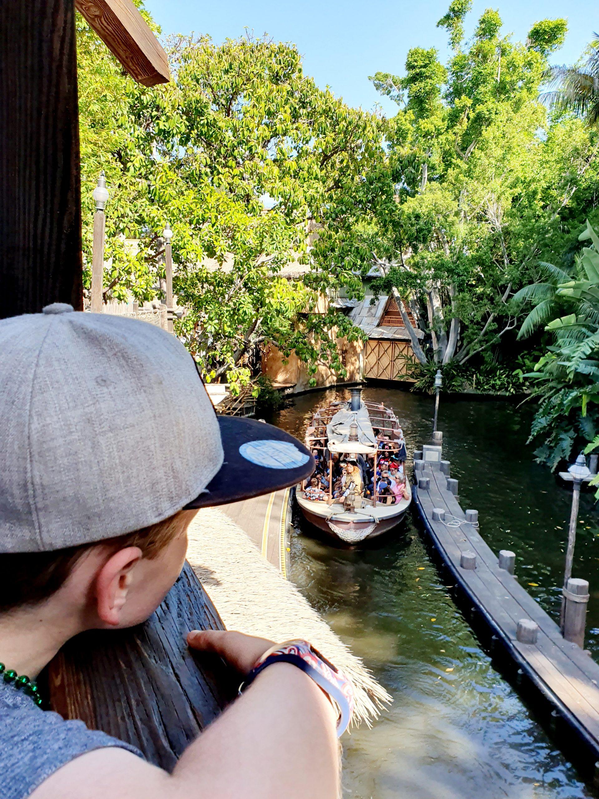Disneyland Adventureland Jungle Cruise