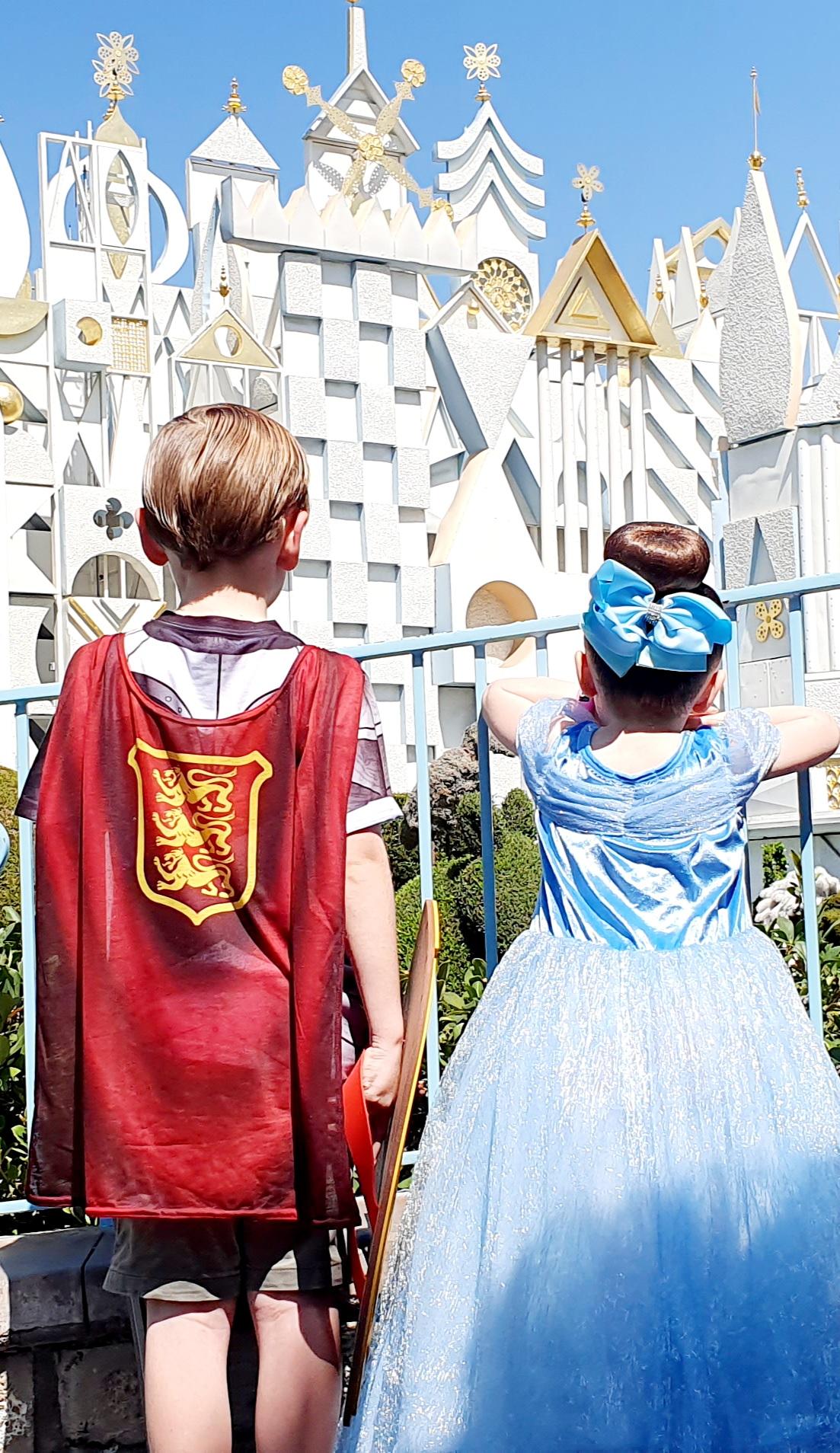 Disneyland Fantasyland  It's a Small World