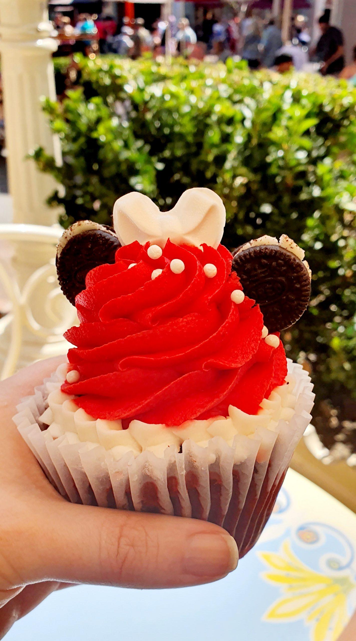 Disneyland Minnie Mouse Cupcake