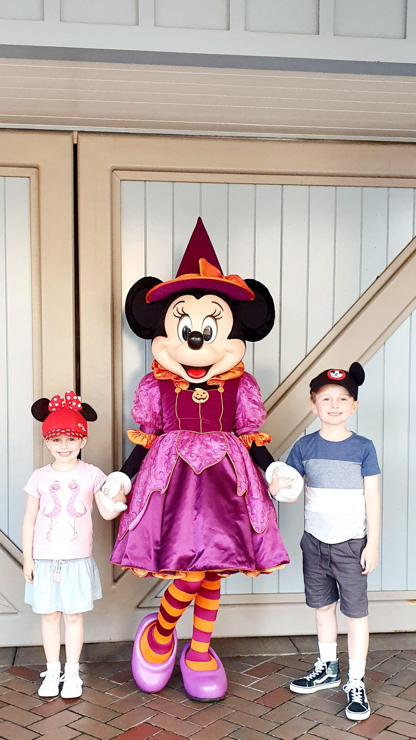 Disneyland Minnie Mouse