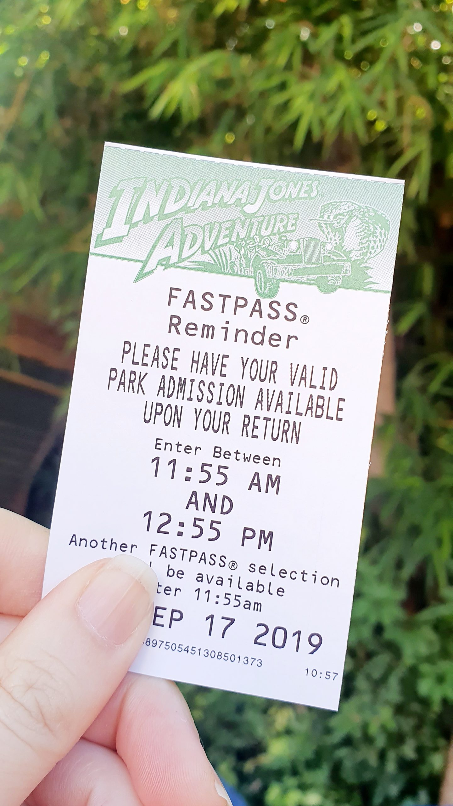 Disneyland Adventureland Indiana Jones Adventure