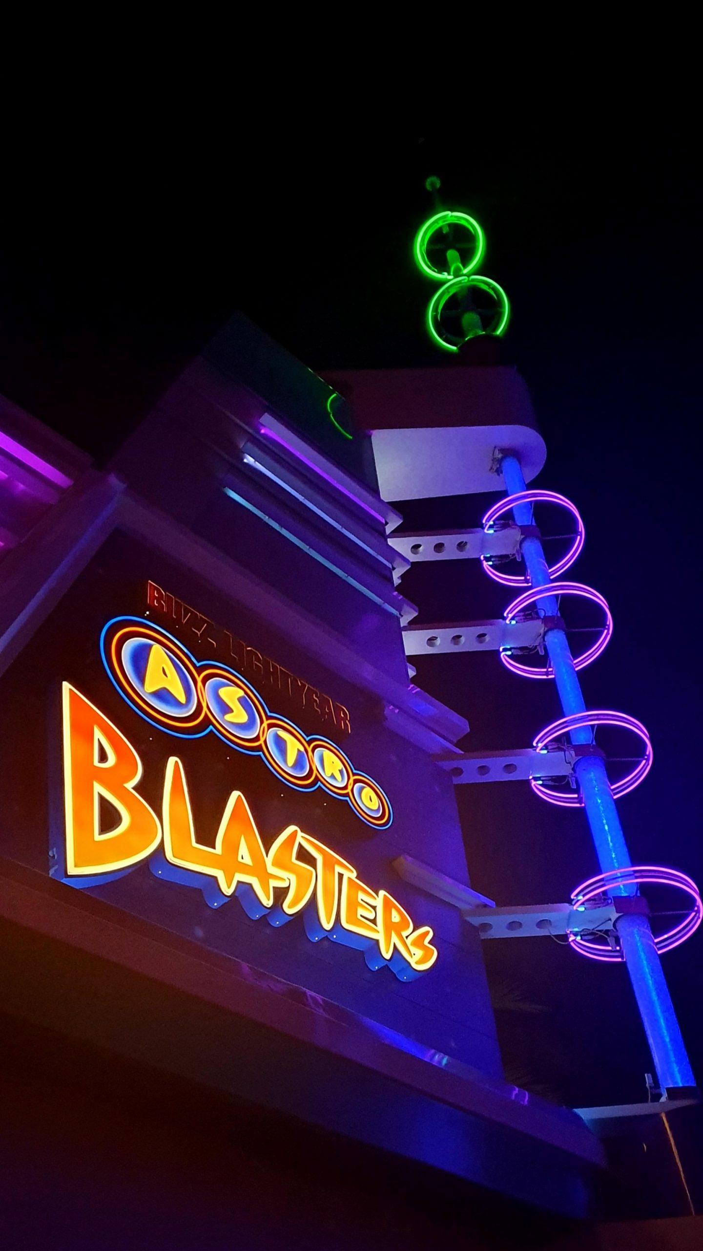 Disneyland Tomorrowland Buzz Lightyear Astro Blasters