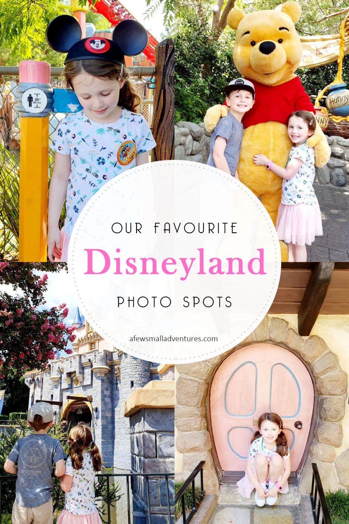 DIsneyland Photo Spots