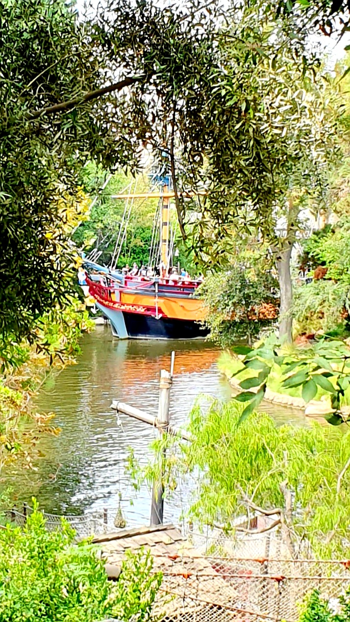 Disneyland Pirate Lair on Tom Sawyer Island