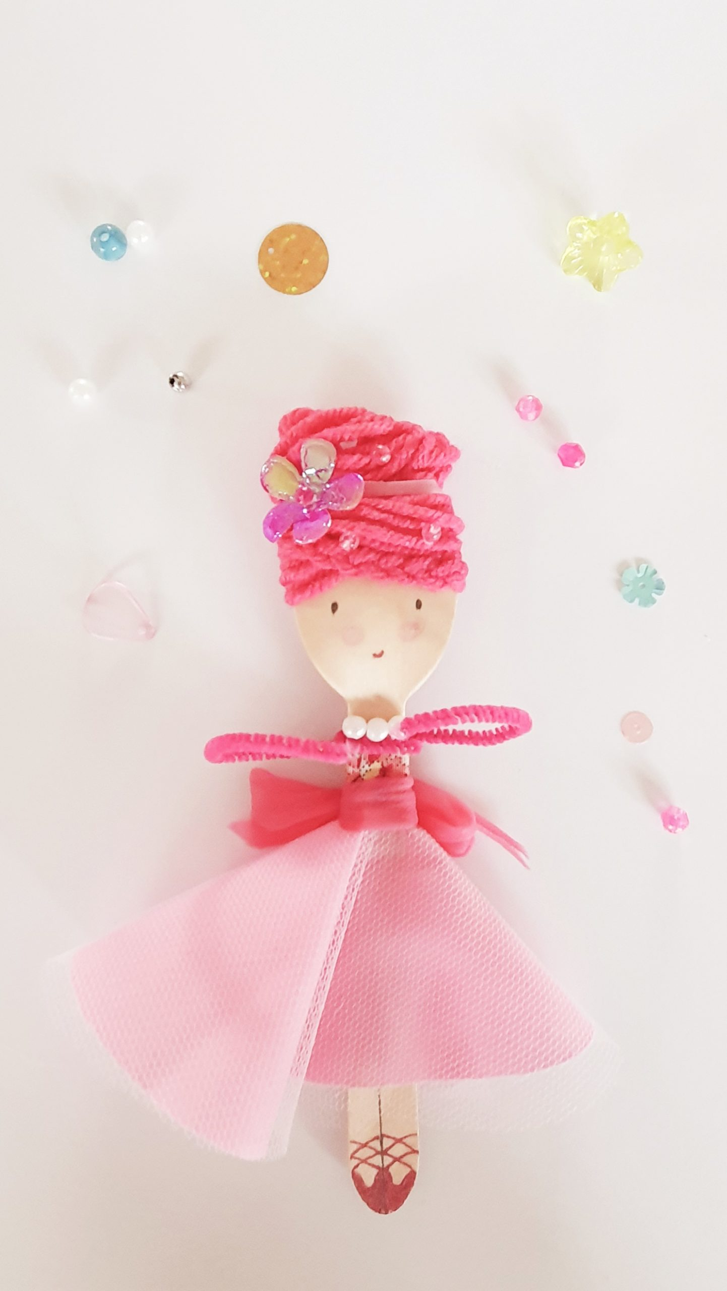 Make Your Own Spoon Doll