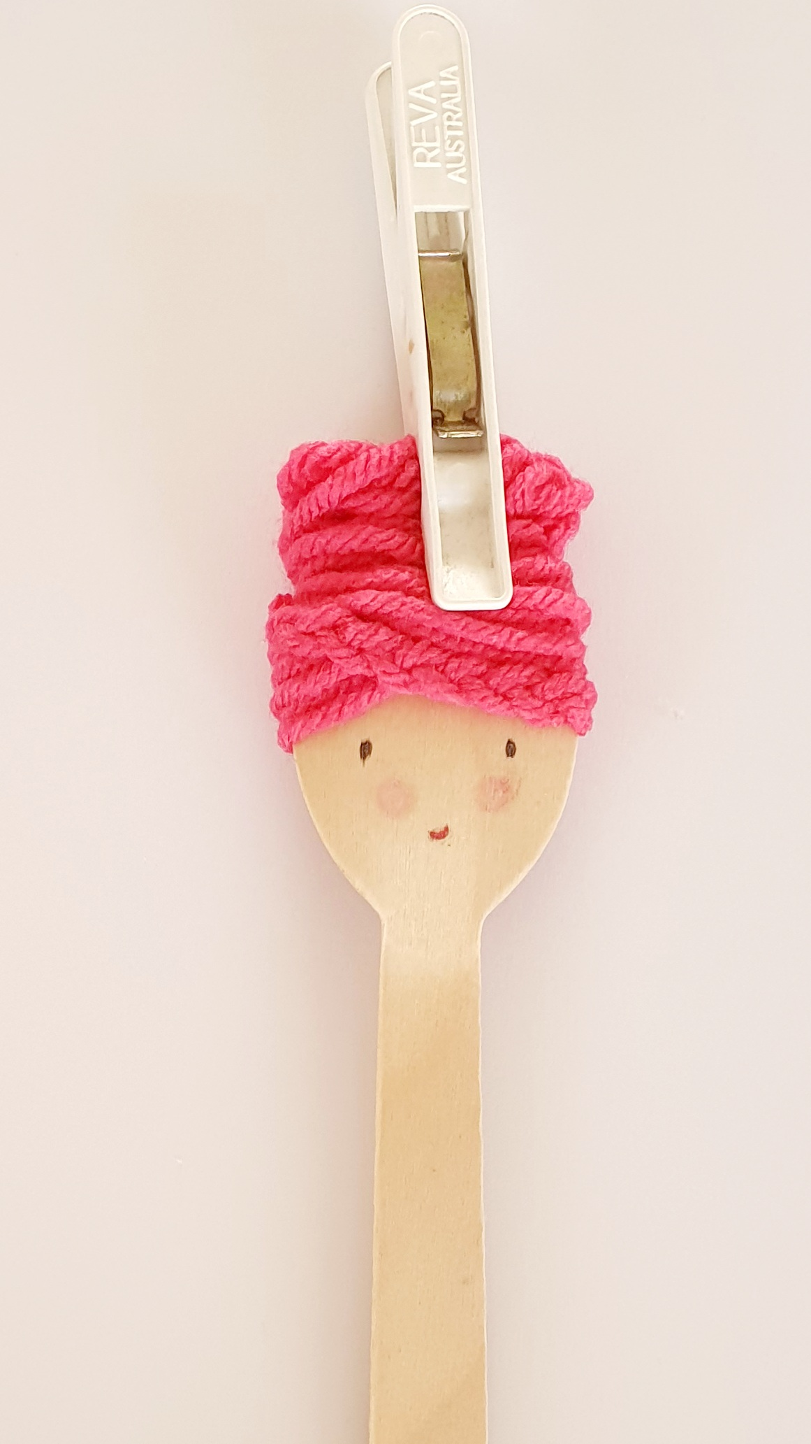 Make Your Own Spoon Doll - Face