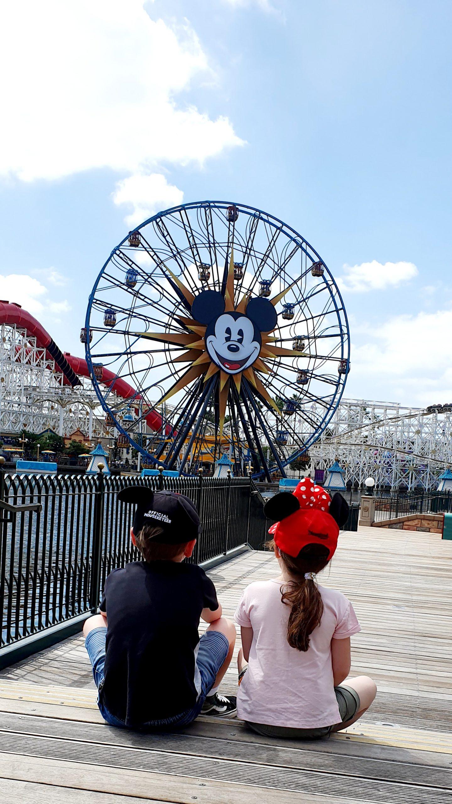 California Adventure Photo Spots - Pixar Pal-A-Round