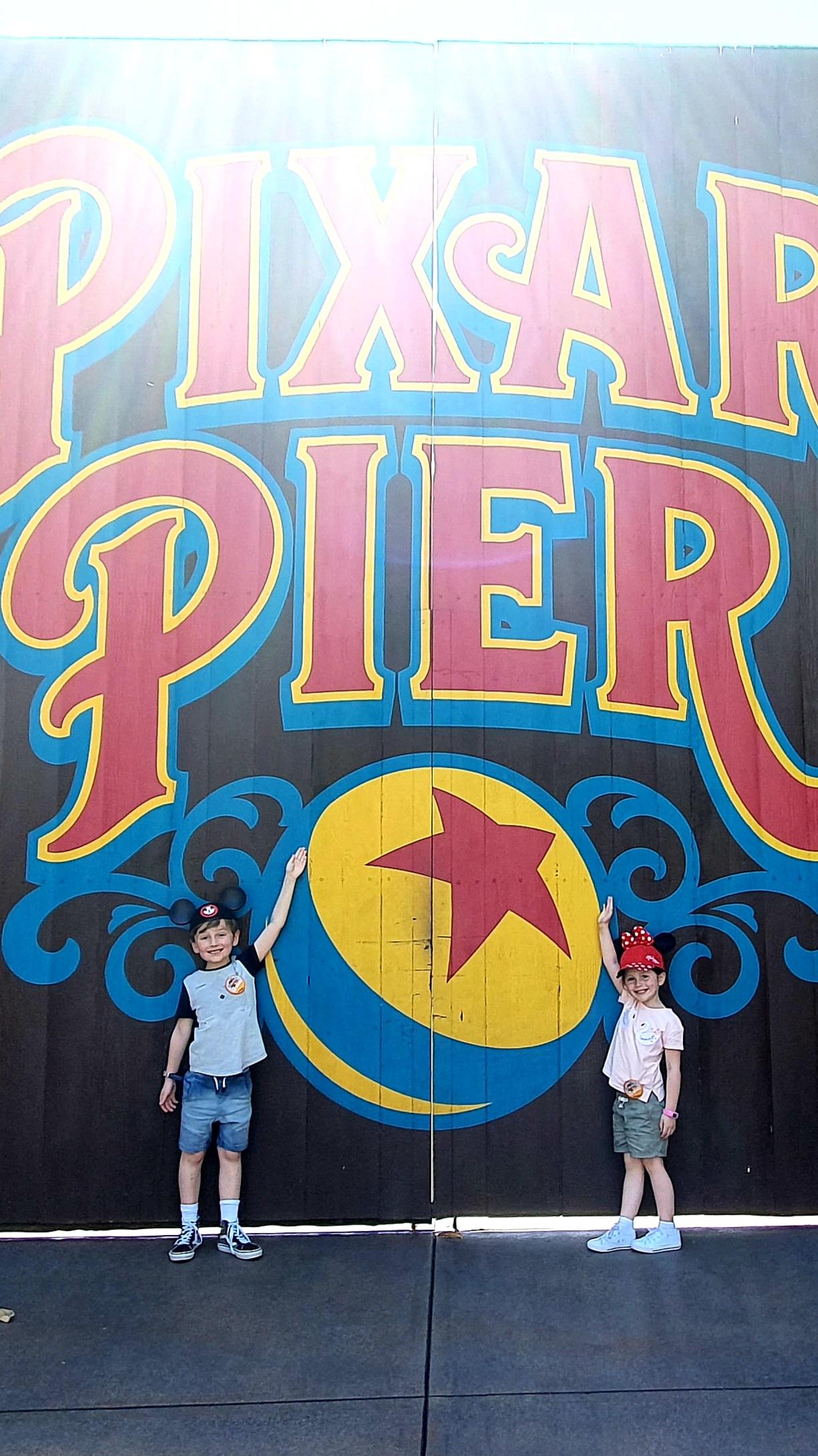 California Adventure Photo Spots - Pixar Pier