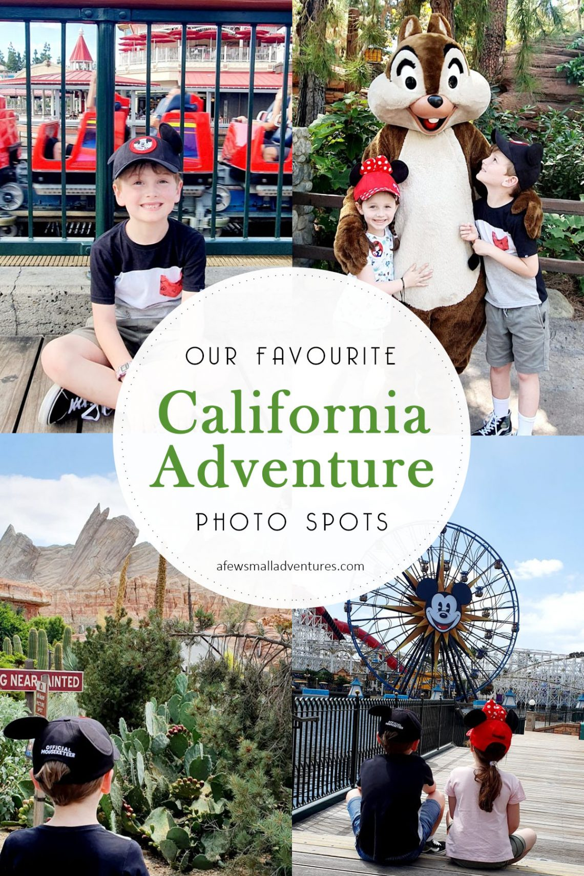 California Adventure Photo Spots