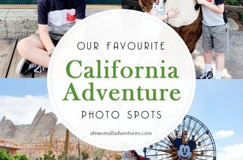 California Adventure Photo Spots