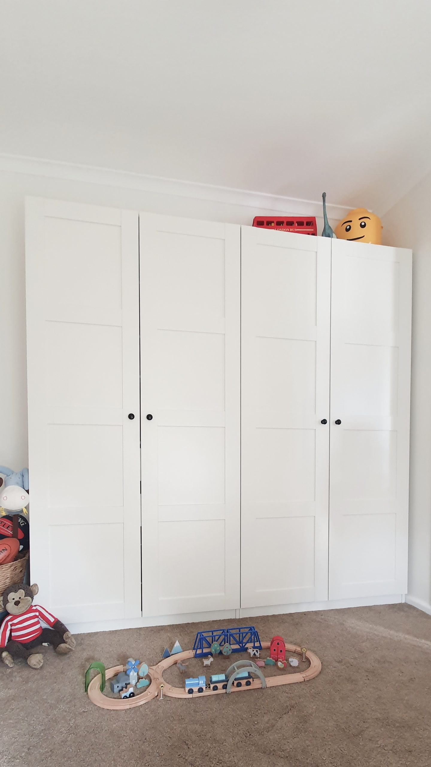 Our Little Playroom  -  Pax wardrobe toy storage