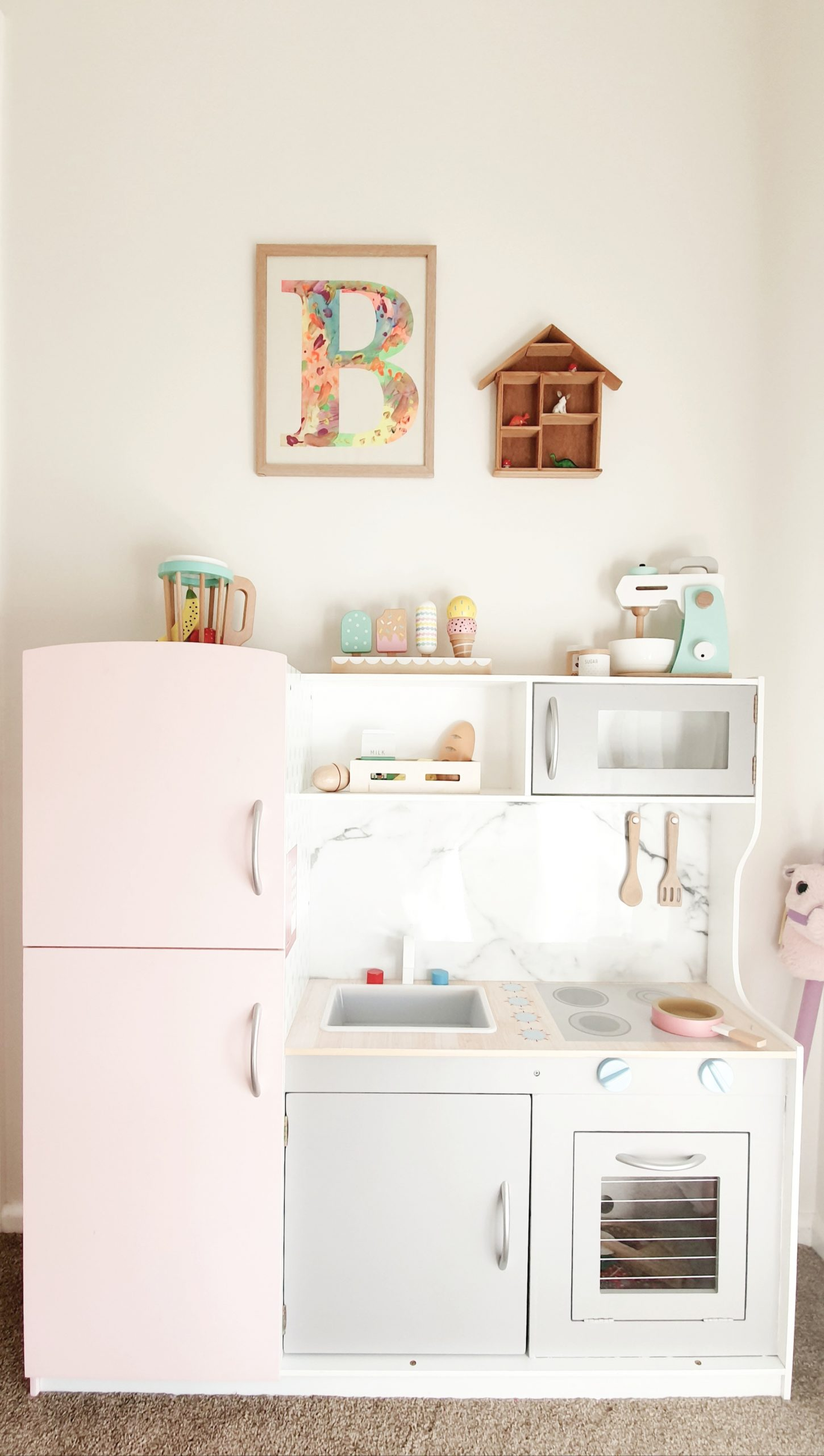 Our Little Playroom - Kmart Kid's Kitchen