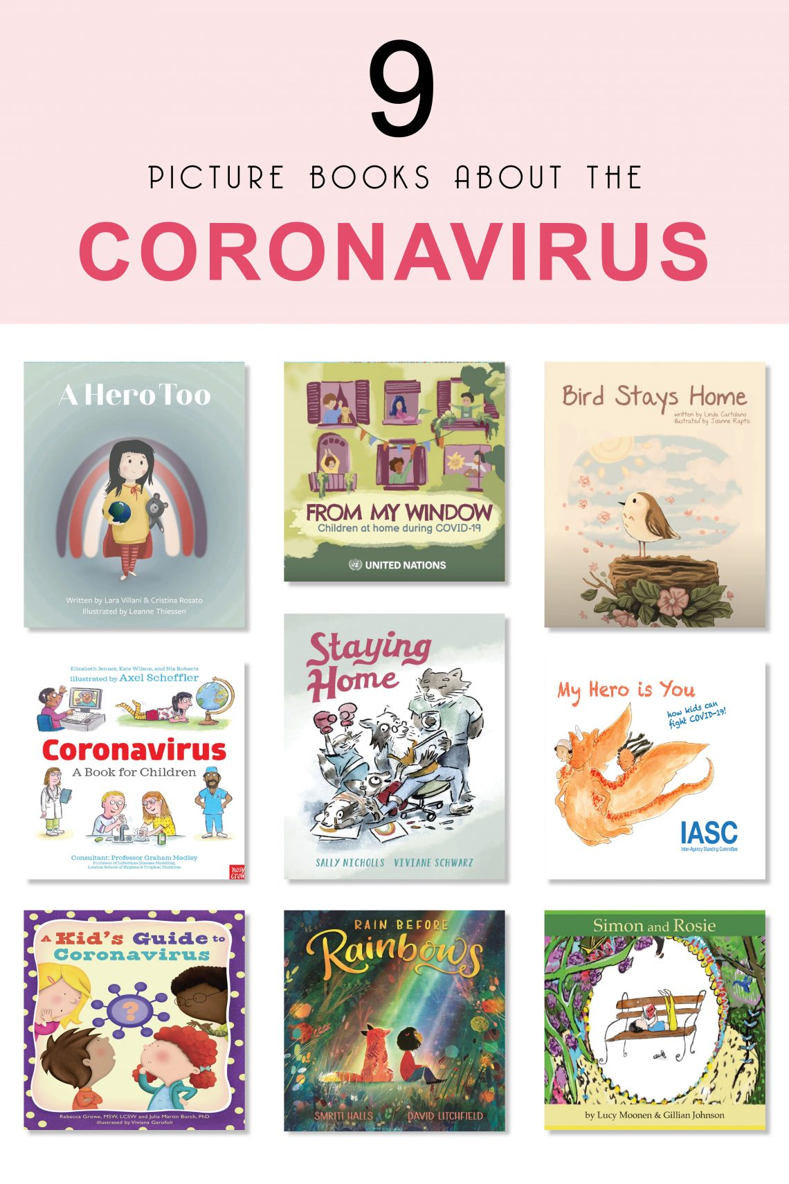 9 Picture Books about the Coronavirus
