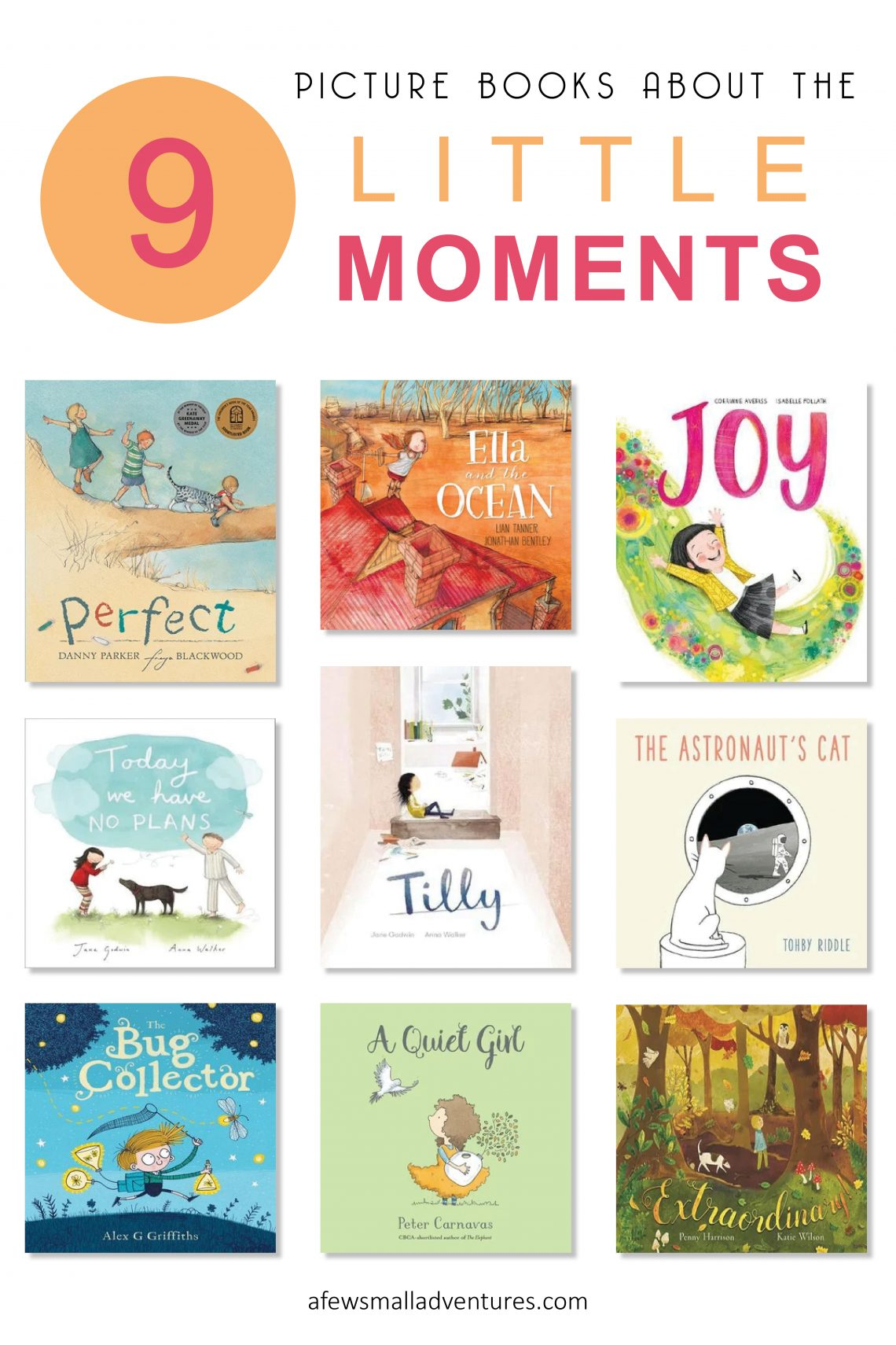 9 Picture Books about the Little Moments