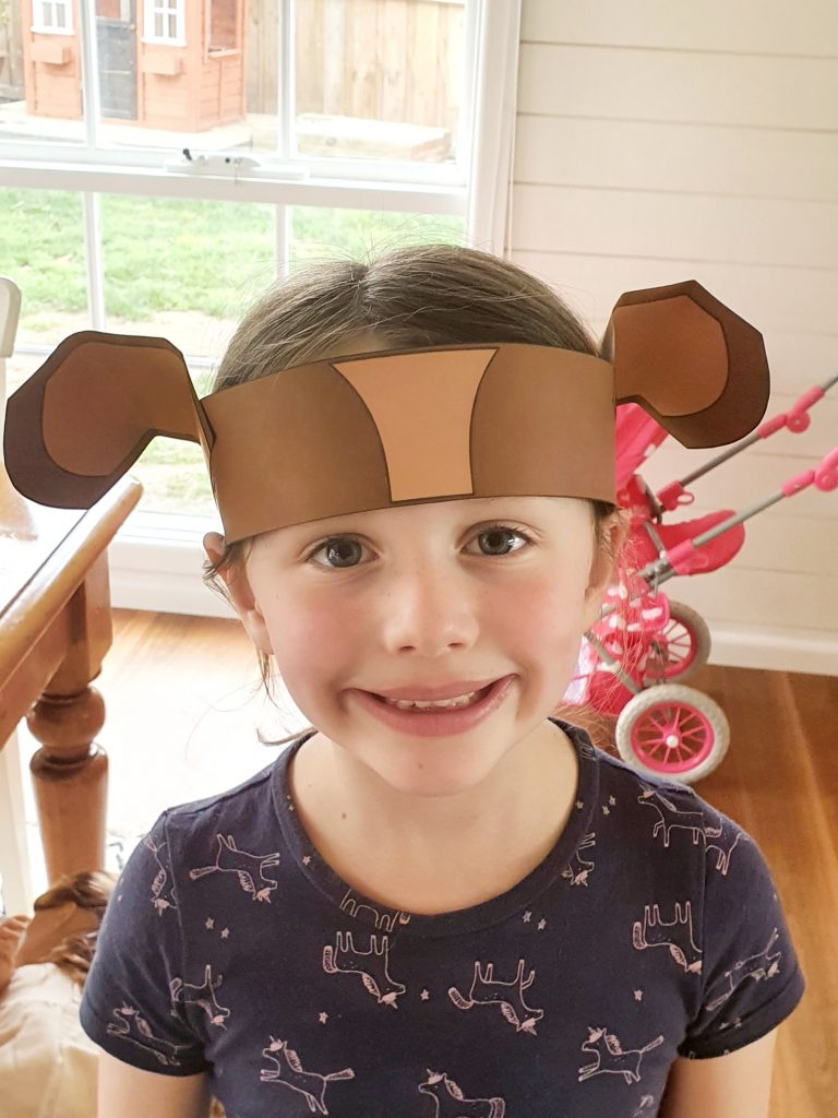 Puppy Dog Ears Craft | A Few Small Adventures