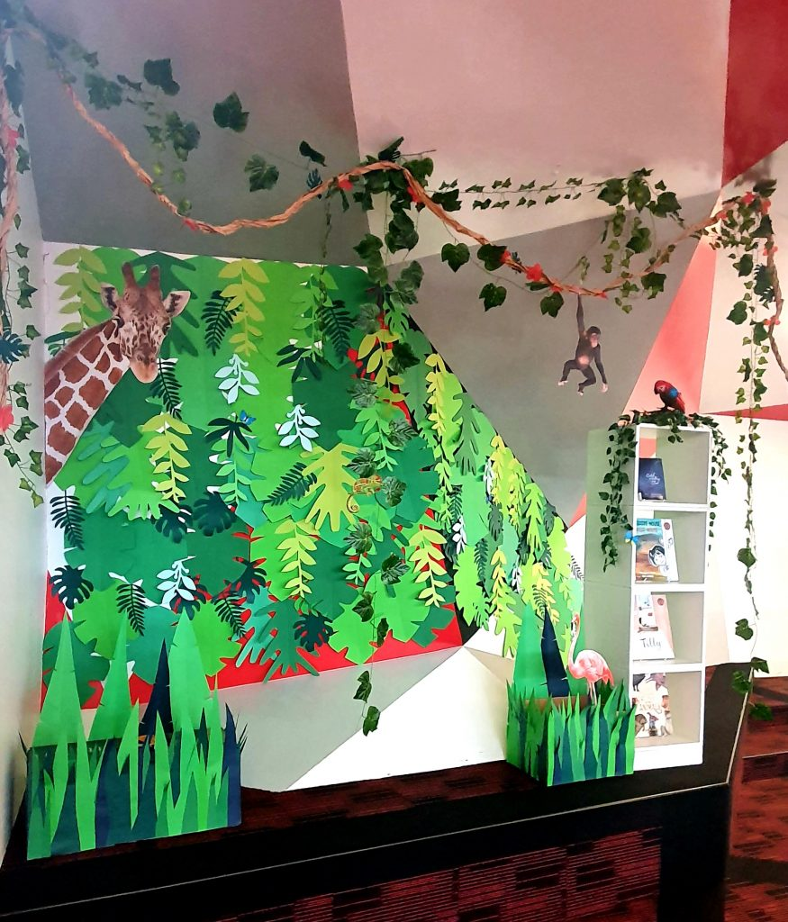 Curious Creatures, Wild Minds | Book Week Display 2020 | A Few Small Adventures