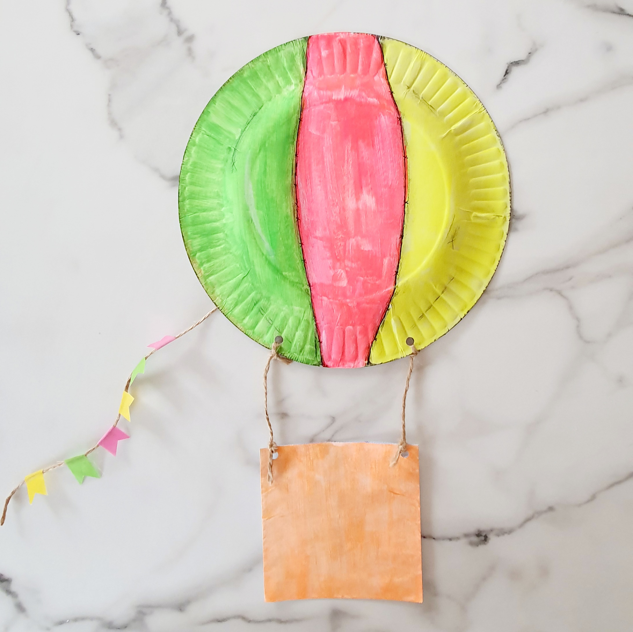 Hot Air Balloon Craft | A Few Small Adventures