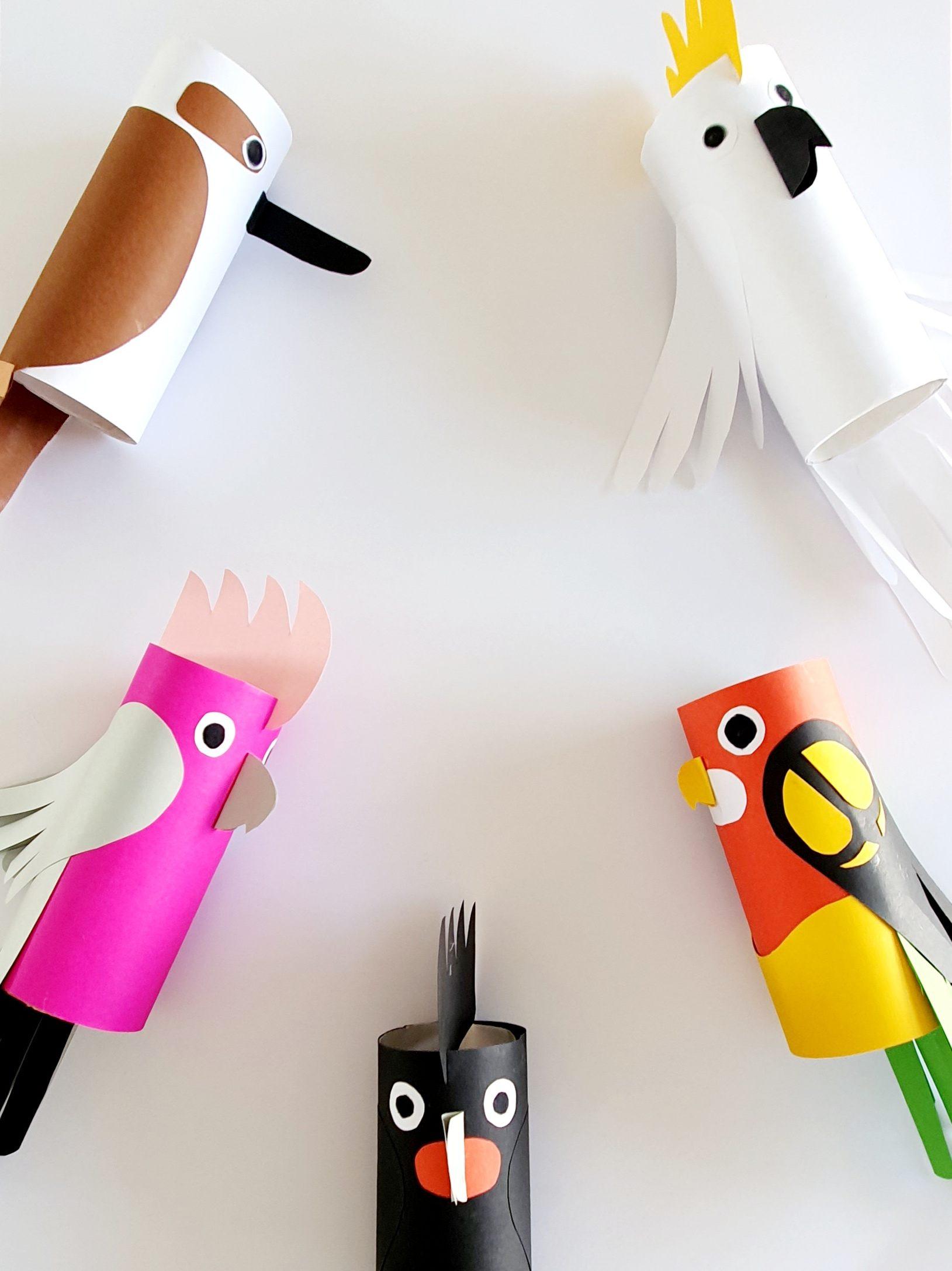 "Australian Bird Craft Inspired By ""Busy Beaks"""
